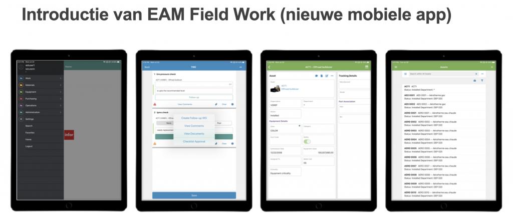 Wat is er nieuw in Infor EAM versie 11.6